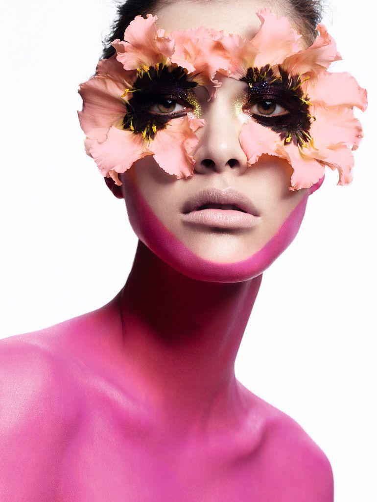 Estelle, Chen, Kouka & Vita stun in spring beauty for Vogue China May 2016 by Cuneyt Akeroglu