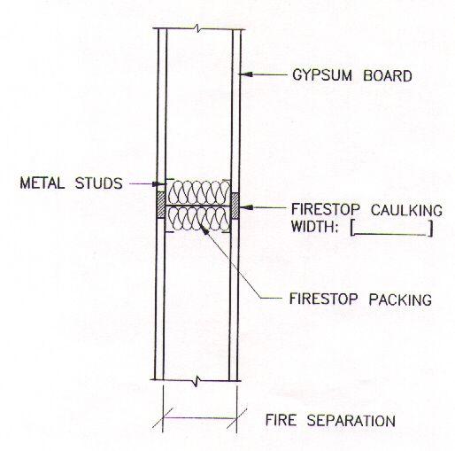 Fire Stop Detail Building Design Building Fire