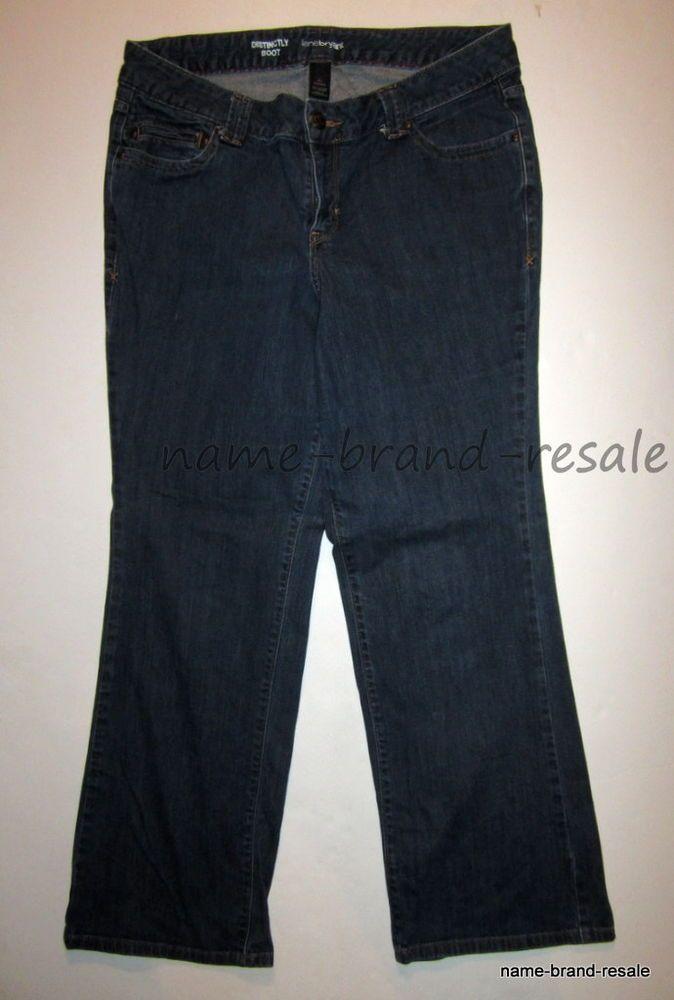 499c5b3c6be LANE BRYANT Distinctly Boot Jeans Womens PLUS 16 AVERAGE Red Triangle CURVY  Fit #LaneBryantVenezia #DistinctlyBoot