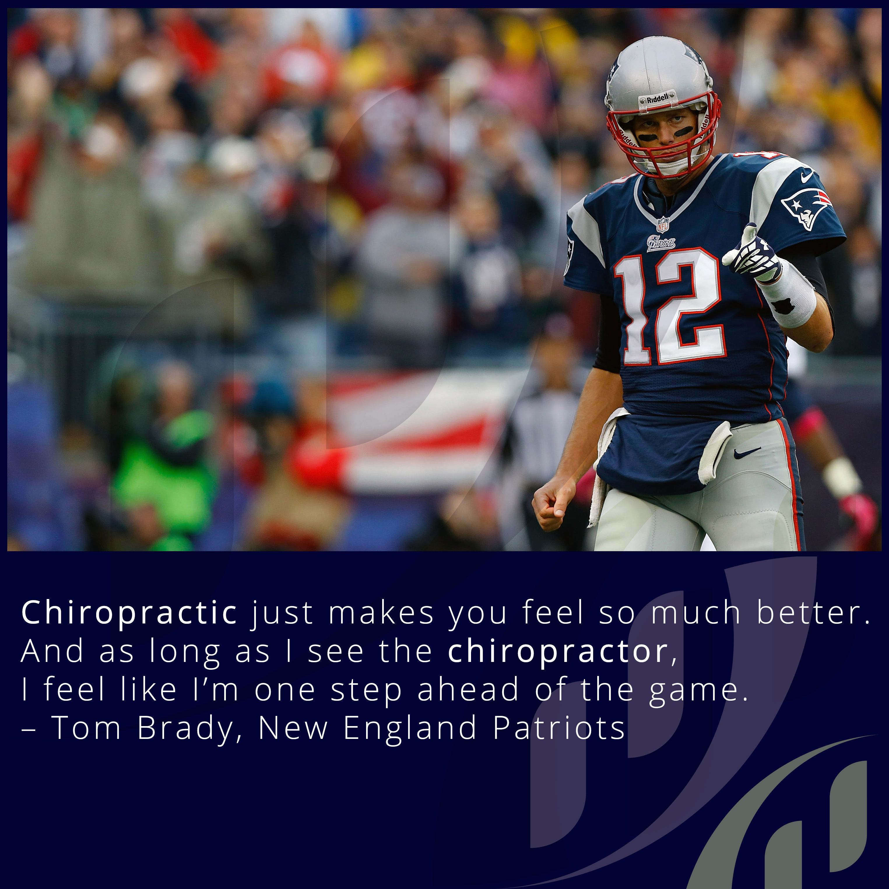 Chiropractic just makes you feel so much better and as