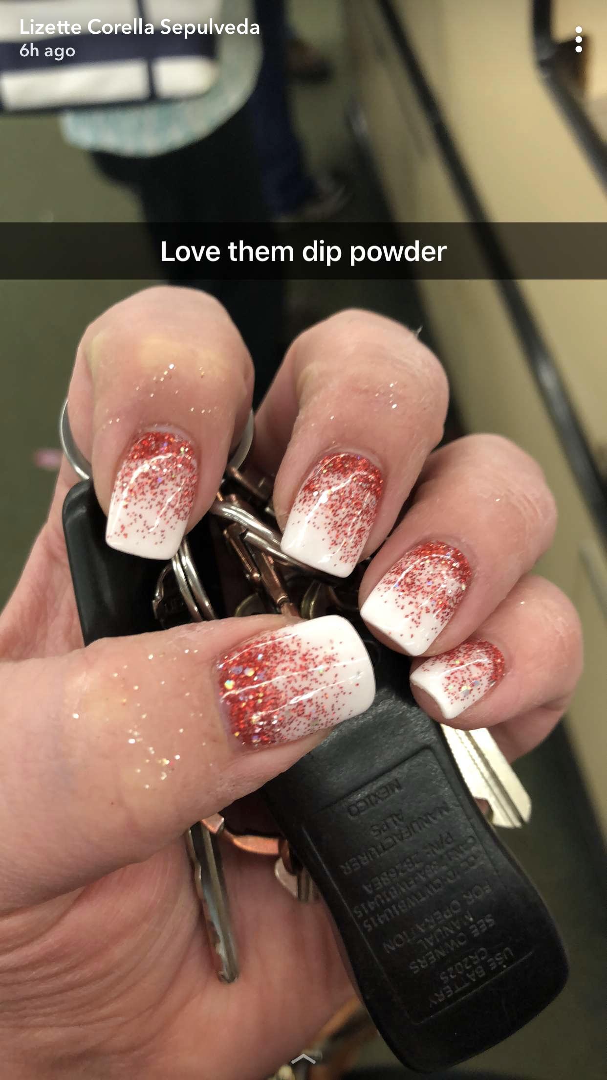 Reverse ombr dip powder | Nail arts in 2018 | Pinterest ...