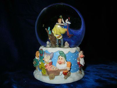Rare Disney snow globe
