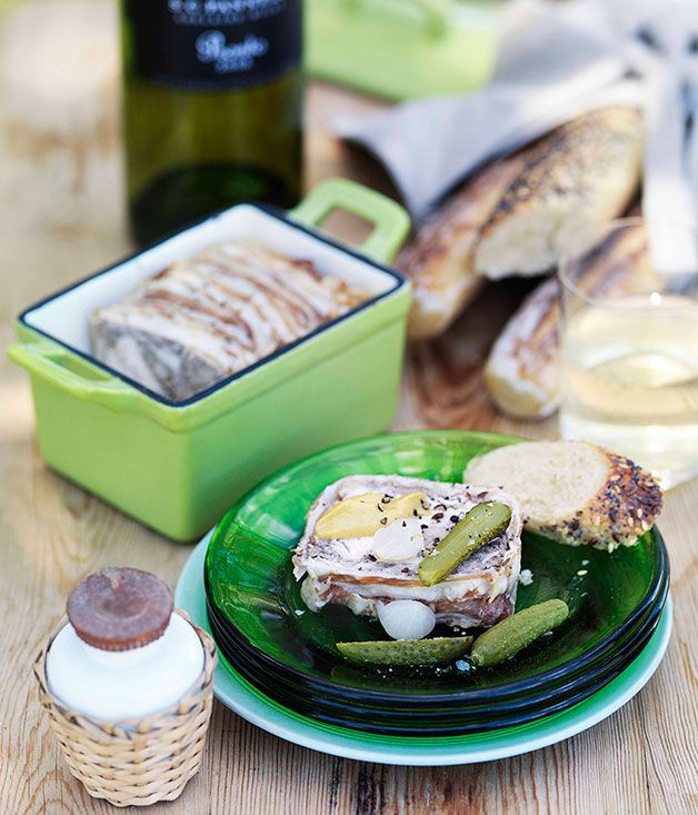 Chicken and lemon terrine gourmet traveller magazine mobile australian gourmet traveller recipe section including gourmet recipes from australias leading gourmet food magazine forumfinder Gallery