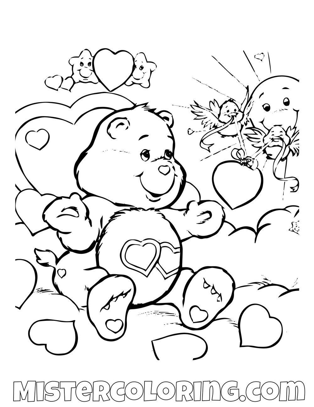 Respect Coloring Pages For Kindergarten Self Showing To Print