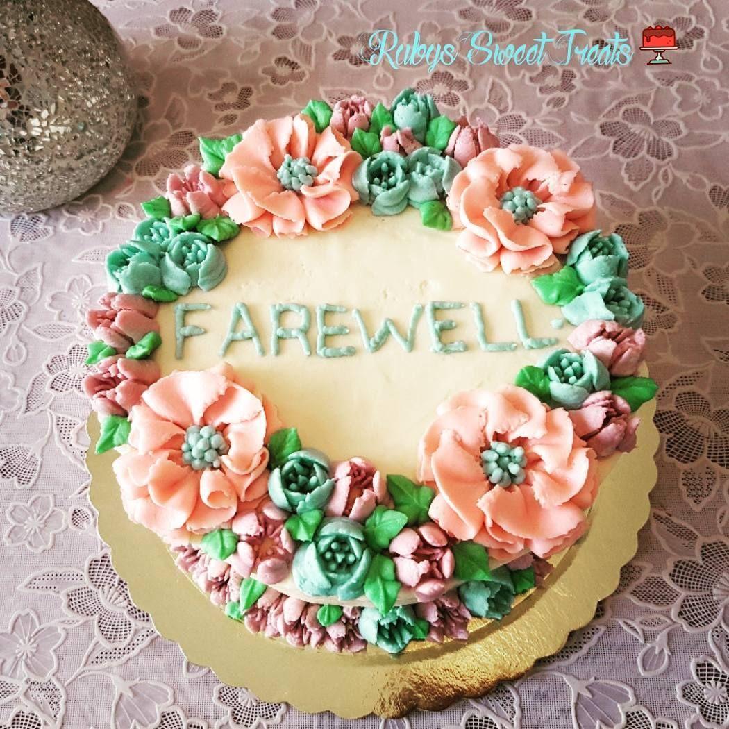 Farewell cake chocolatecake cakeart cakeinspiration