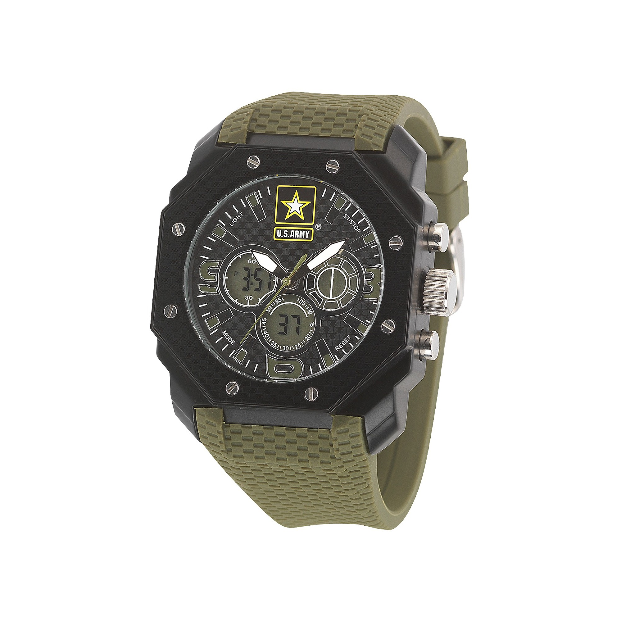 digital men green armor quartz u size s watch wrist army pin watches