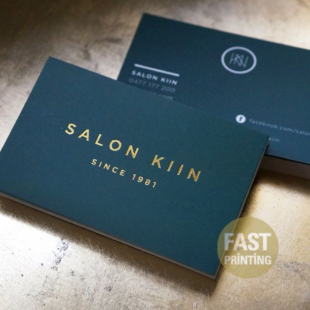Gold Foil Finish Business Card On 300gsm Matt Cello Artboard Goldfoil Businesscard Fastp Foil Business Cards Doctor Business Cards Business Card Inspiration
