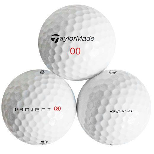 120 Taylormade Project (A) Refinished Golf Balls  No Markings Or Logos  d455257816df