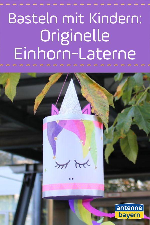 Die DIY Einhorn-Laterne: Hier geht's zur Bastelanleitung