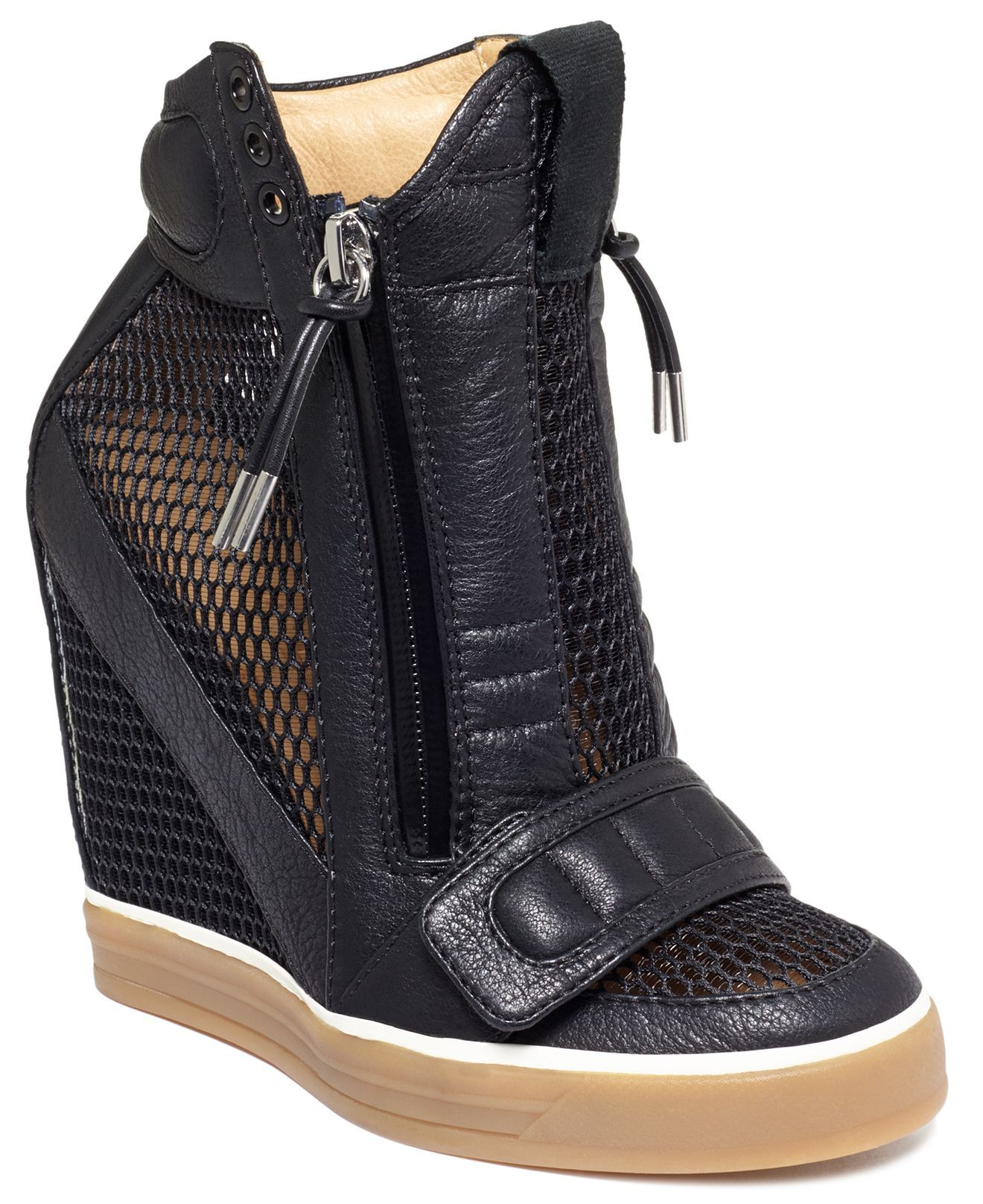 L.A.M.B Shoes, Pamela Platform Wedge Sneakers - Shoe Trends - Shoes - Macy's !!!