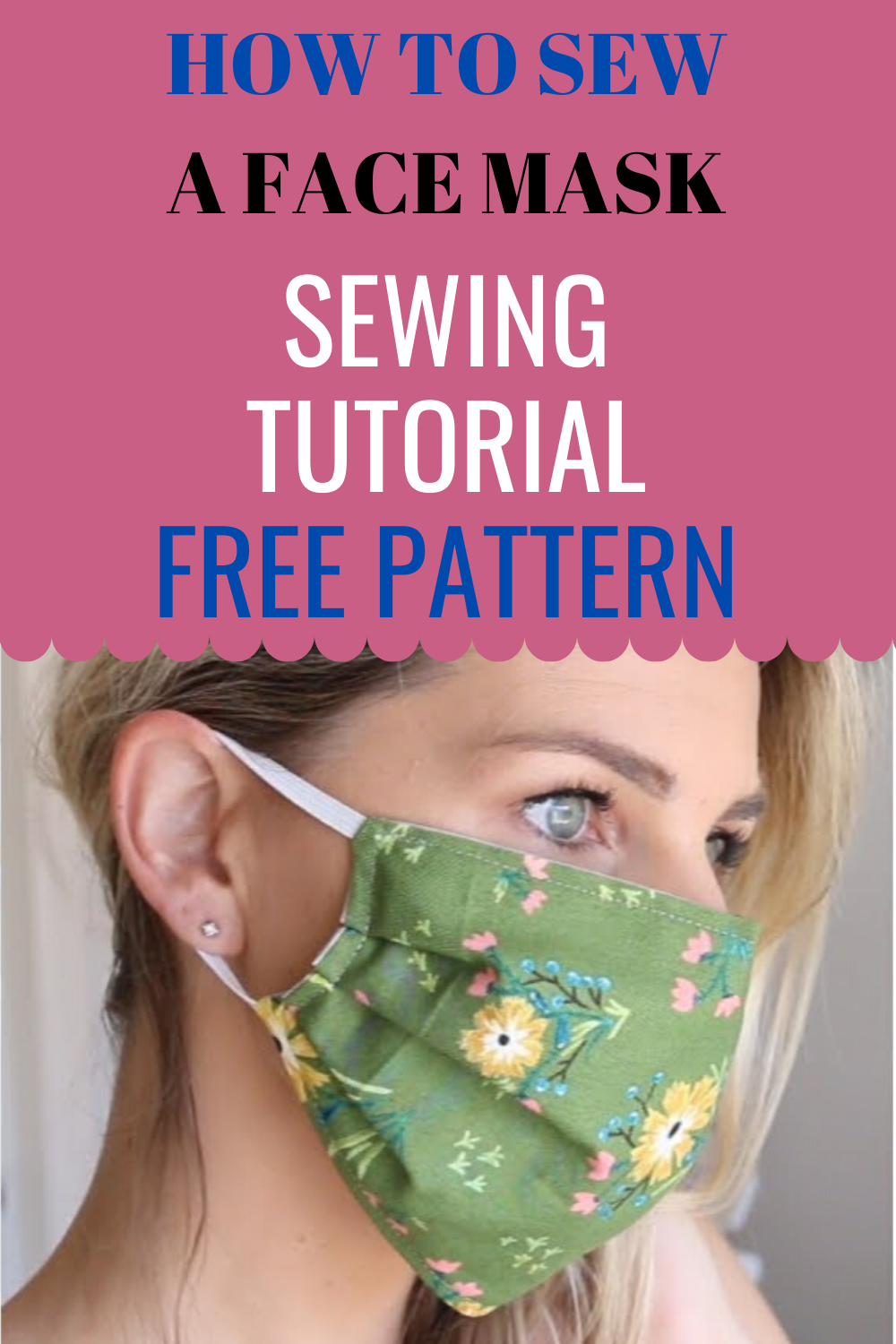 Photo of How to sew a face mask – 10 minutes video Sewing Tutorial