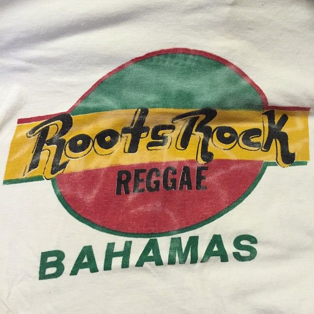 Roots Rock Reggae Bahamas Vintage t shirt in our SF shop