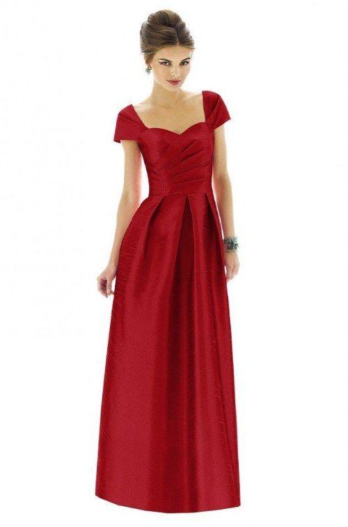 vestidos rojos dama de honor  7481d7a9203f