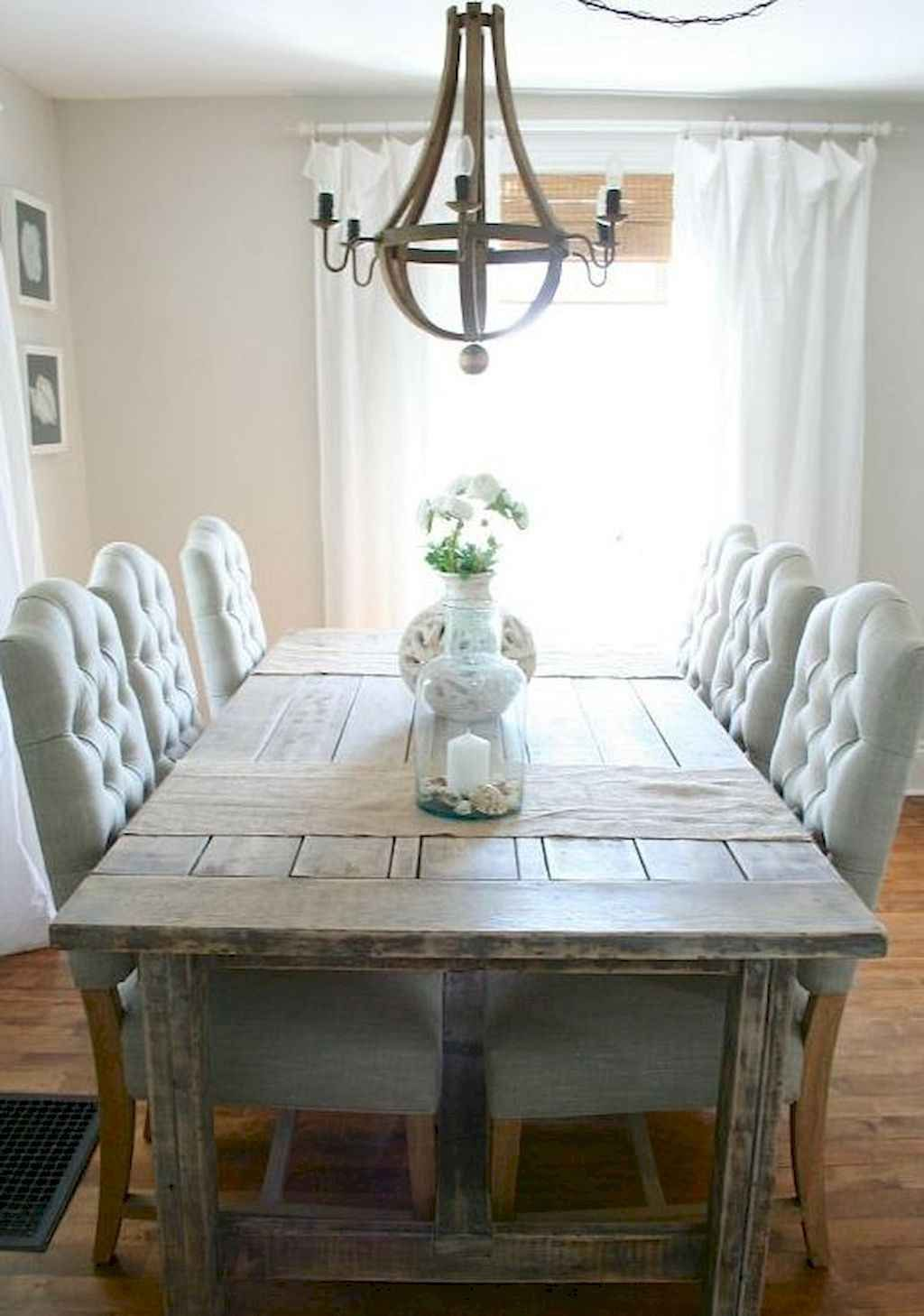 Rustic Farmhouse Dining Room Table Decor Ideas And Makeover Page
