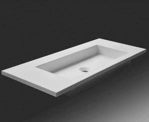 Solid Surface Wastafel : Solid surface wastafel badkamer solid surface