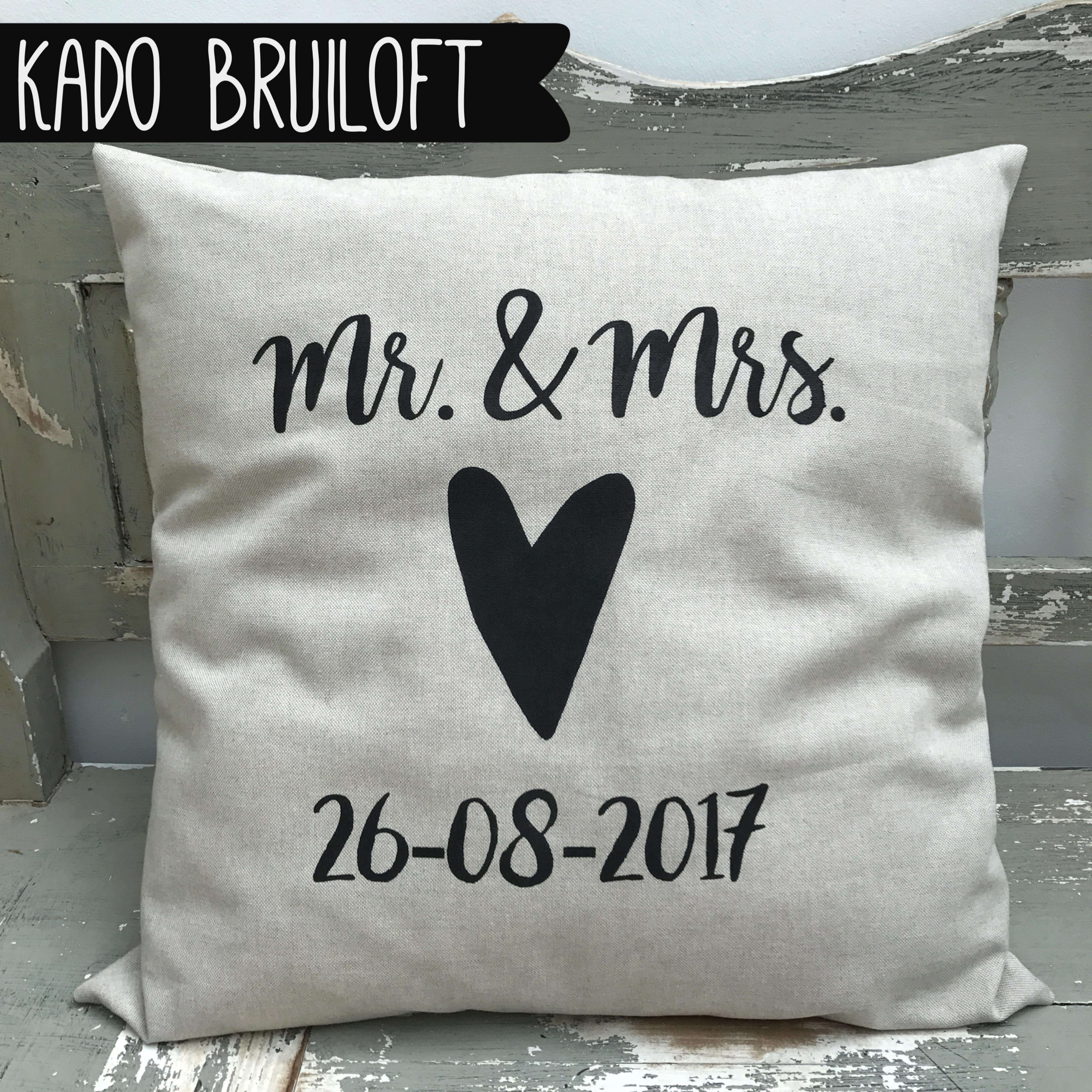 Kado Bruiloft Cadeau Jubileum Een Mooi Persoonlijk
