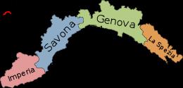 Cartina Della Liguria Politica.Liguria Wikipedia Sfida Di Lettura Mappa Dell Italia Mappe Illustrate