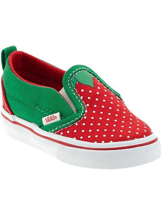 c7f83dff65f strawberry vans sneakers (infant   toddler)