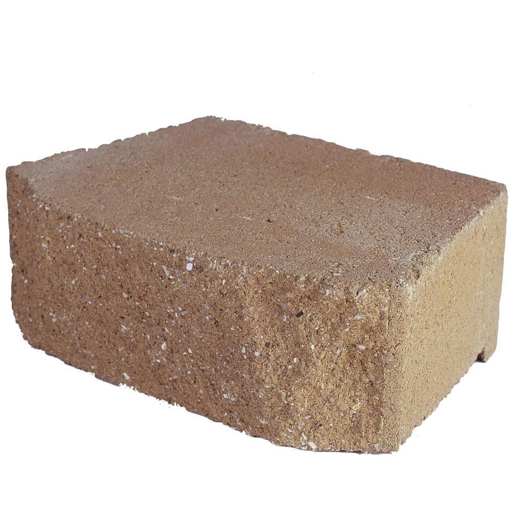Pavestone 6 75 In L X 11 63 In W X 4 In H Tan Concrete