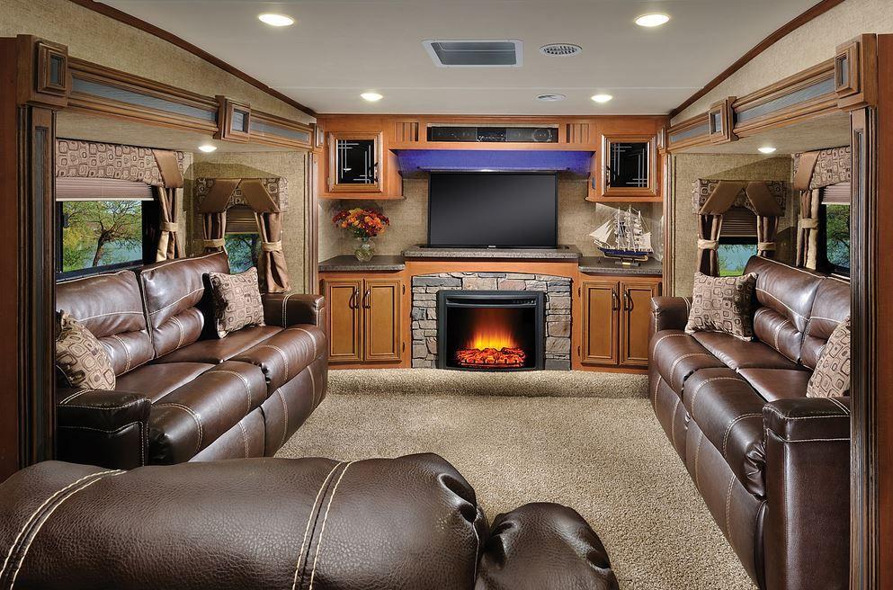 2016 Forest River Sierra 377flik Front Living Room Rv Living