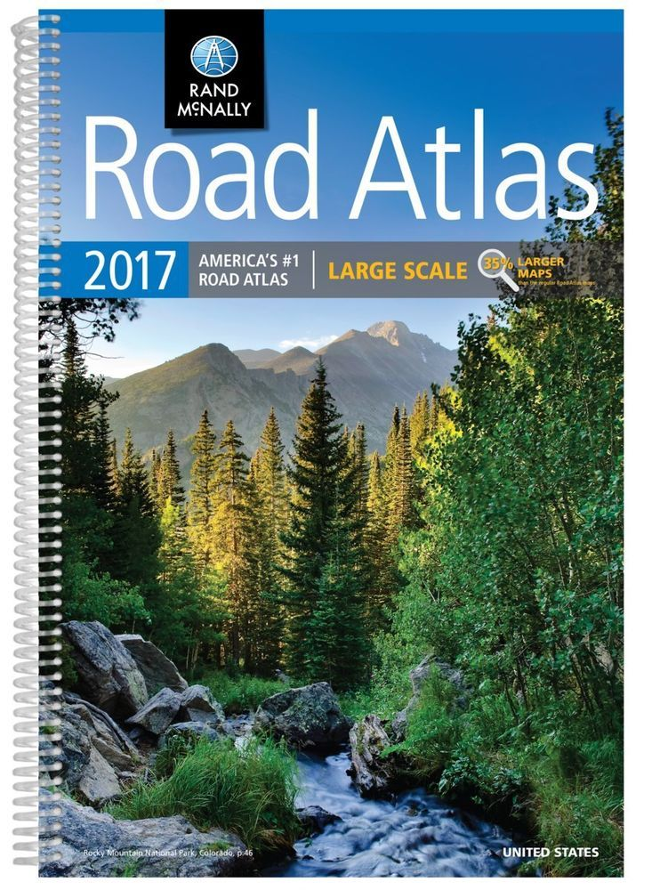 Details about 2020 Rand McNally Large Scale Road Atlas New