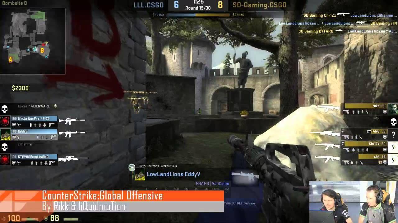 LowLandLions vs SD-Gaming - Semi final CS:GO at eSportsFestival