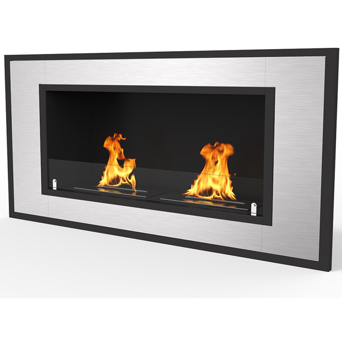 Regal Flame Cynergy 42 Ventless Built In Wall Recessed Bio Ethanol