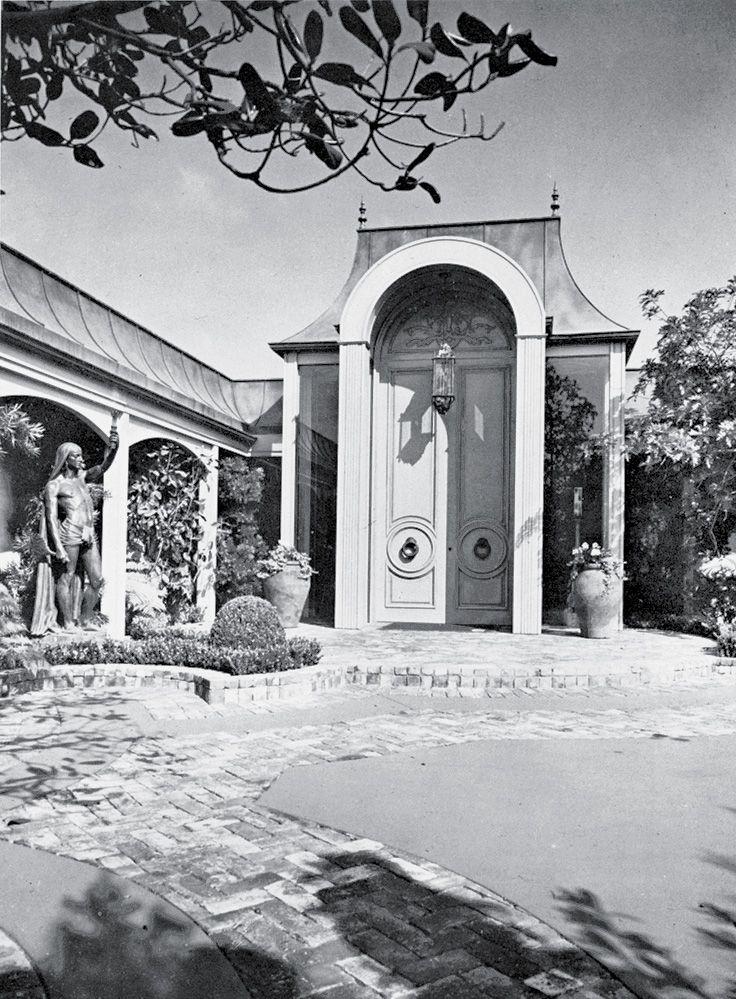 Elvis Presleys Hollywood Regency Style House In Trousdale Estates