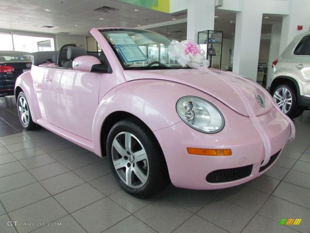 2006 New Beetle 2 5 Convertible Custom Pink Volkswagen New Beetle New Beetle Volkswagen Beetle Convertible