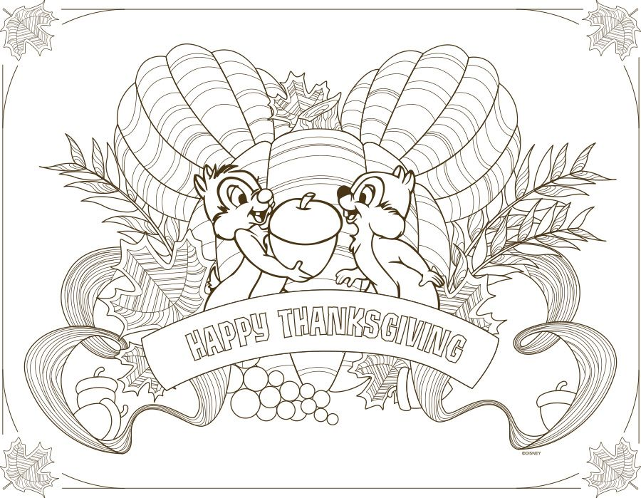 Download Disney Parks Inspired Kids Thanksgiving Placemats Disney Thanksgiving Thanksgiving Coloring Pages Thanksgiving Placemats