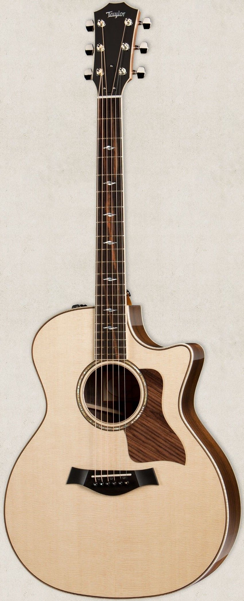 Taylor 2014 814ce Electro Acoustic Guitar With Es 2 Electro Acoustic Guitar Acoustic Guitar Taylor Guitars Acoustic