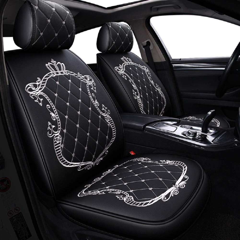 Skysep Crown Car Seat Covers, Fully Surrounded Unisex Seat
