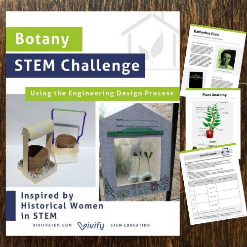 Botany Stem Challenge Cover Png Stem Lesson Plans Stem Activities Life Science Stem