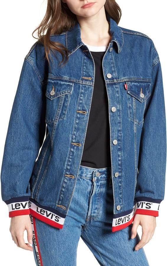 VDOQL Womens Ring Double Pocket Denim Jacket