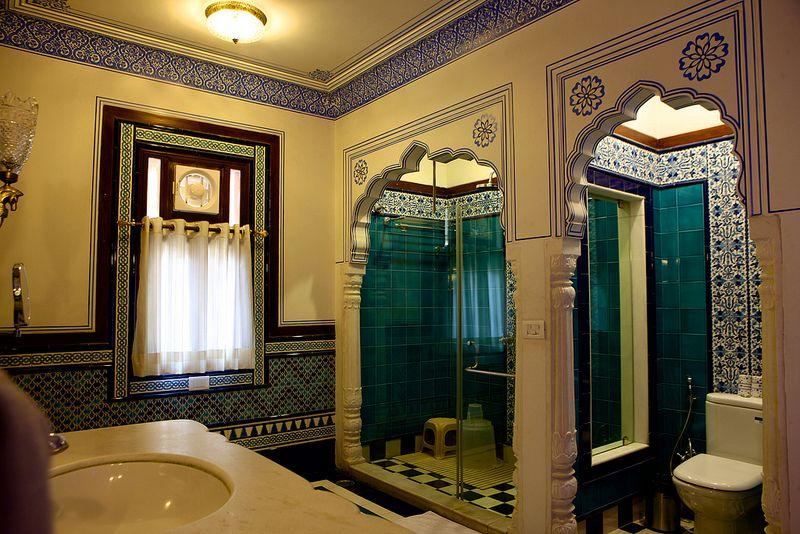 Jaipur   Indian bathroom, Bathroom, Framed bathroom mirror