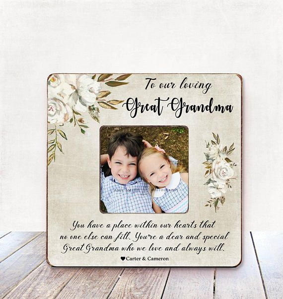 Great Grandma Gift Picture Frame