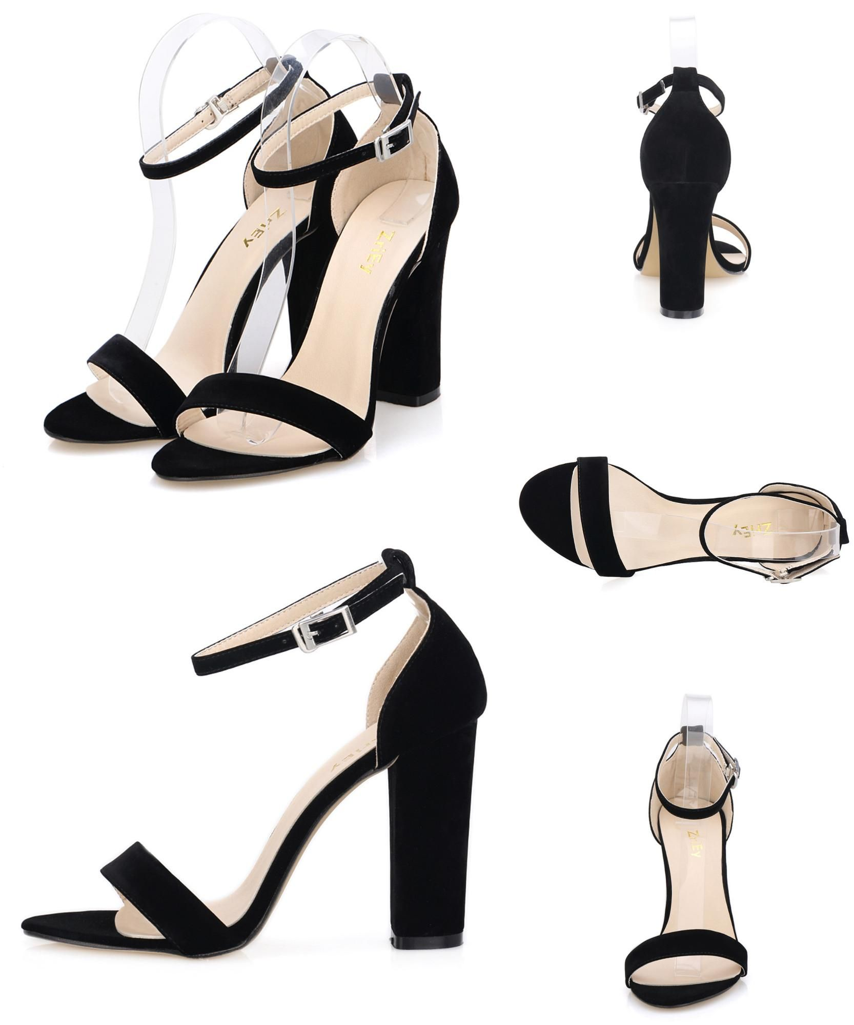 ea82cc388b Visit to Buy] LOSLANDIFEN Newest Women Open Toe Sexy Ankle Straps ...