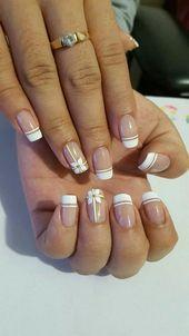 Photo of NagelDesign Elegant (photo) #elegant #manicure #nageldesign #nageldesignelegant …