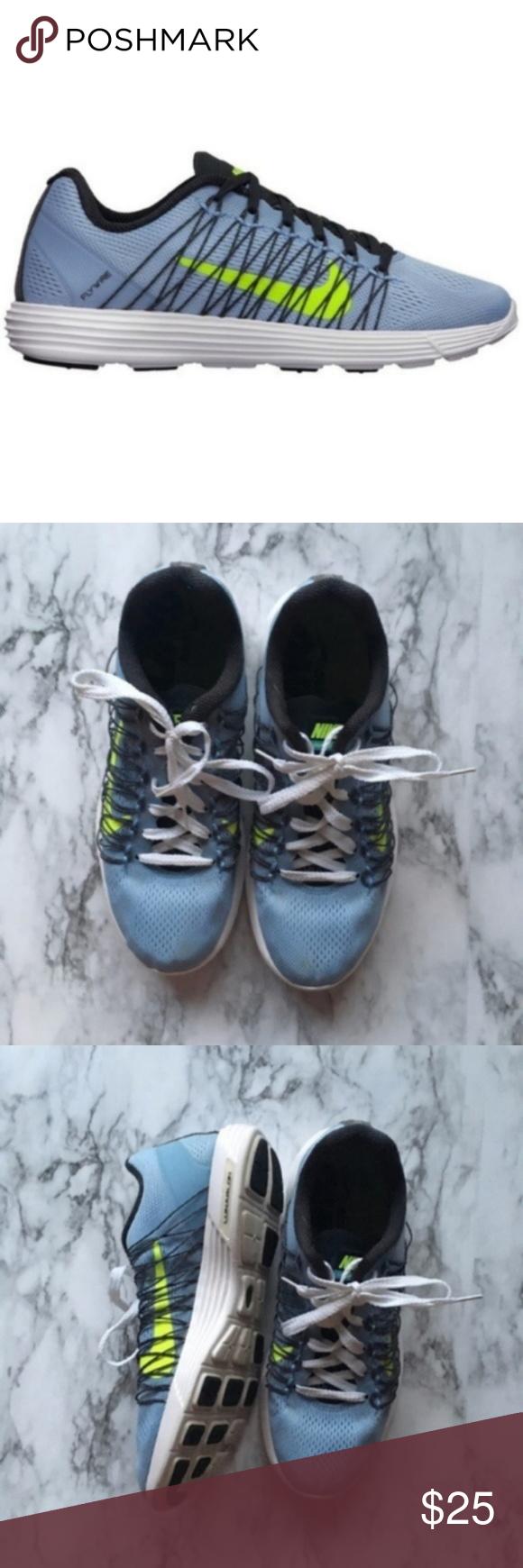on sale 0e605 42ece Nike Lunaracer 3 Women s Blue Running Sneakers Nike Lunaracer 3 women s  running shoe combines the feel