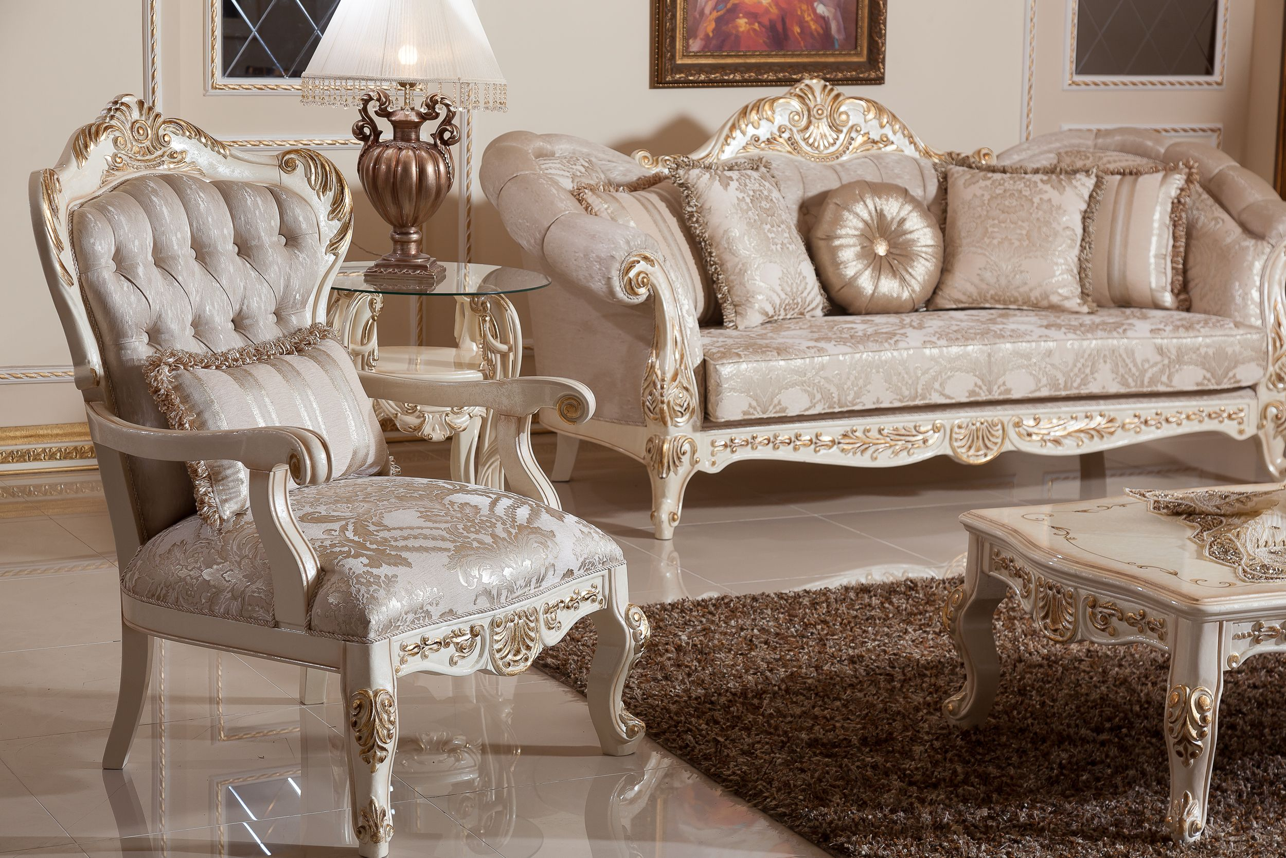 VIZYON SOFA SET Handmade Turkish Furniture. You Can Give Order This Sofa  Set (3+3+1+1+ Coffee Table). Total Price Is 6500 Dollar. We Can Shipping  Worldwide.