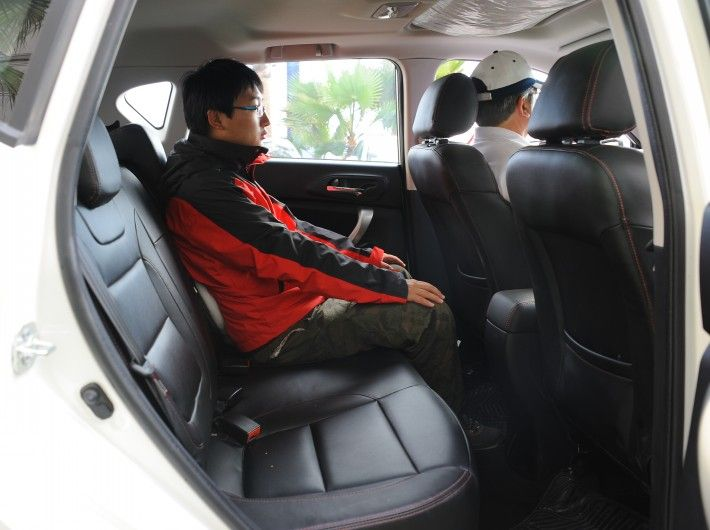 Changan Cs35 Inside Comfortable Seat With Images Comfortable