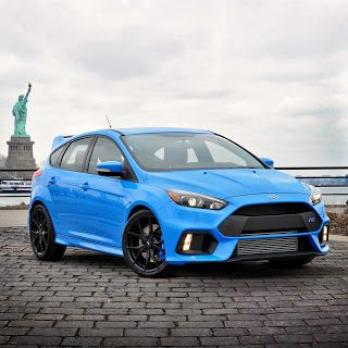 Ford Focus Rs Offers A Full Suite Of Michelin Performance Tire
