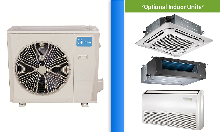 Midea 36000 In Minisplitwarehouse Com Mini Split Warehouse Brings You The Lowest Prices On The Best Midea 36000 Bt Heat Pump Air Conditioner Heat Pump Ductless
