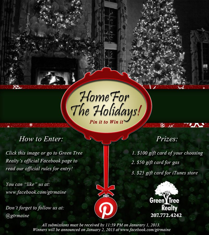 Enter Green Tree Realty S Portland Maine Pin2win Contest