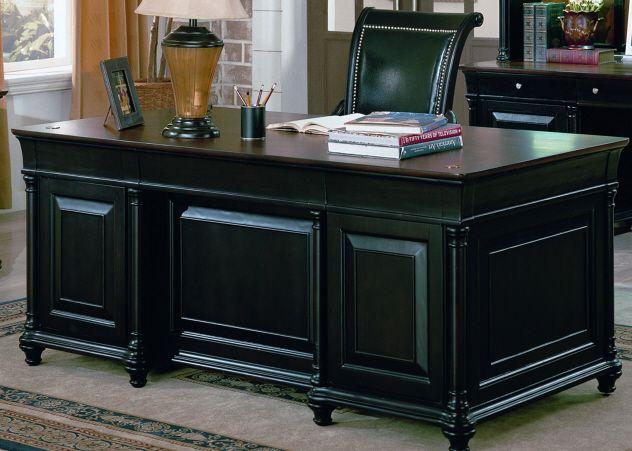 Chris' Exec Desk for our new home office! Office desk