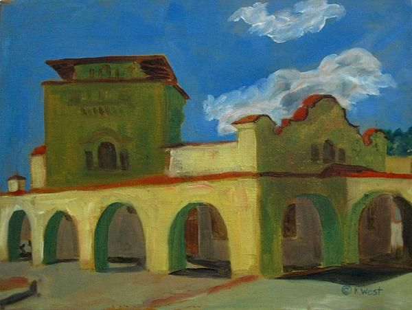 Train Station, Raton, NM  Now on Fine Art America