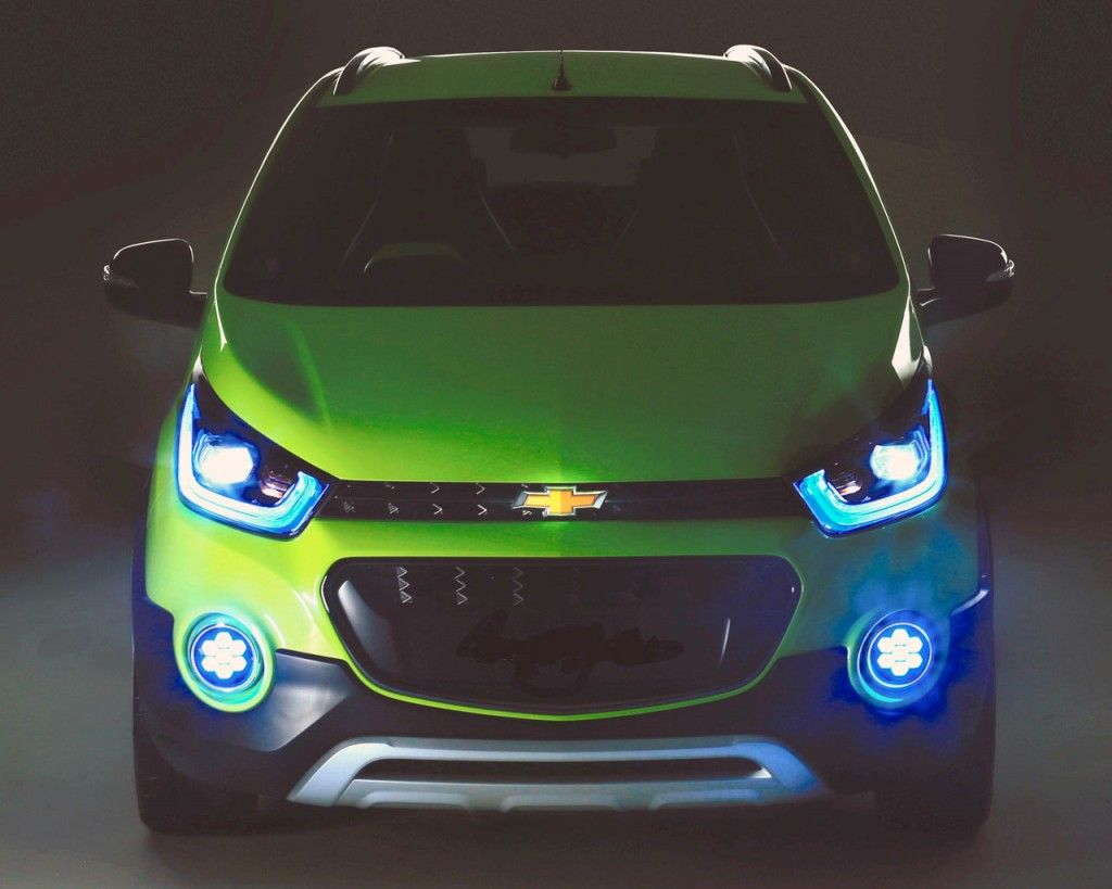 Chevrolet Beat Spark Cross Concept Teased For Auto Expo Chevrolet Spark Chevrolet Auto