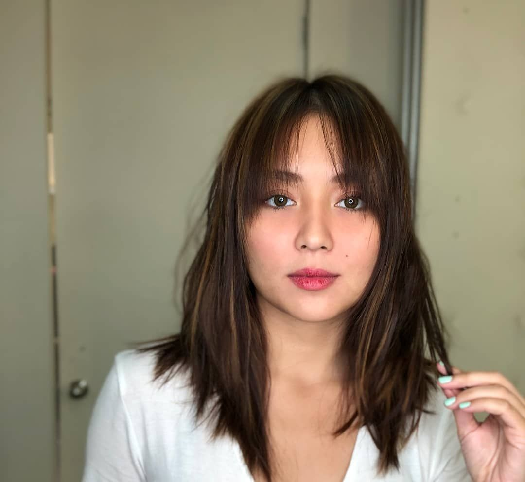 Kathryn Bernardo Hair Color For Morena Kathryn Bernardo Hairstyle Asian Short Hair