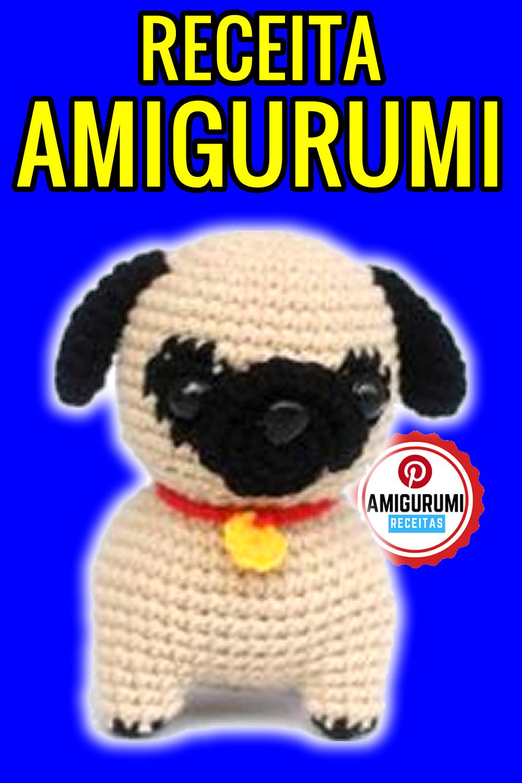 Crochet Adorable Pug Amigurumi Dog Part 1 of 2 DIY Tutorial - YouTube | 1500x1000