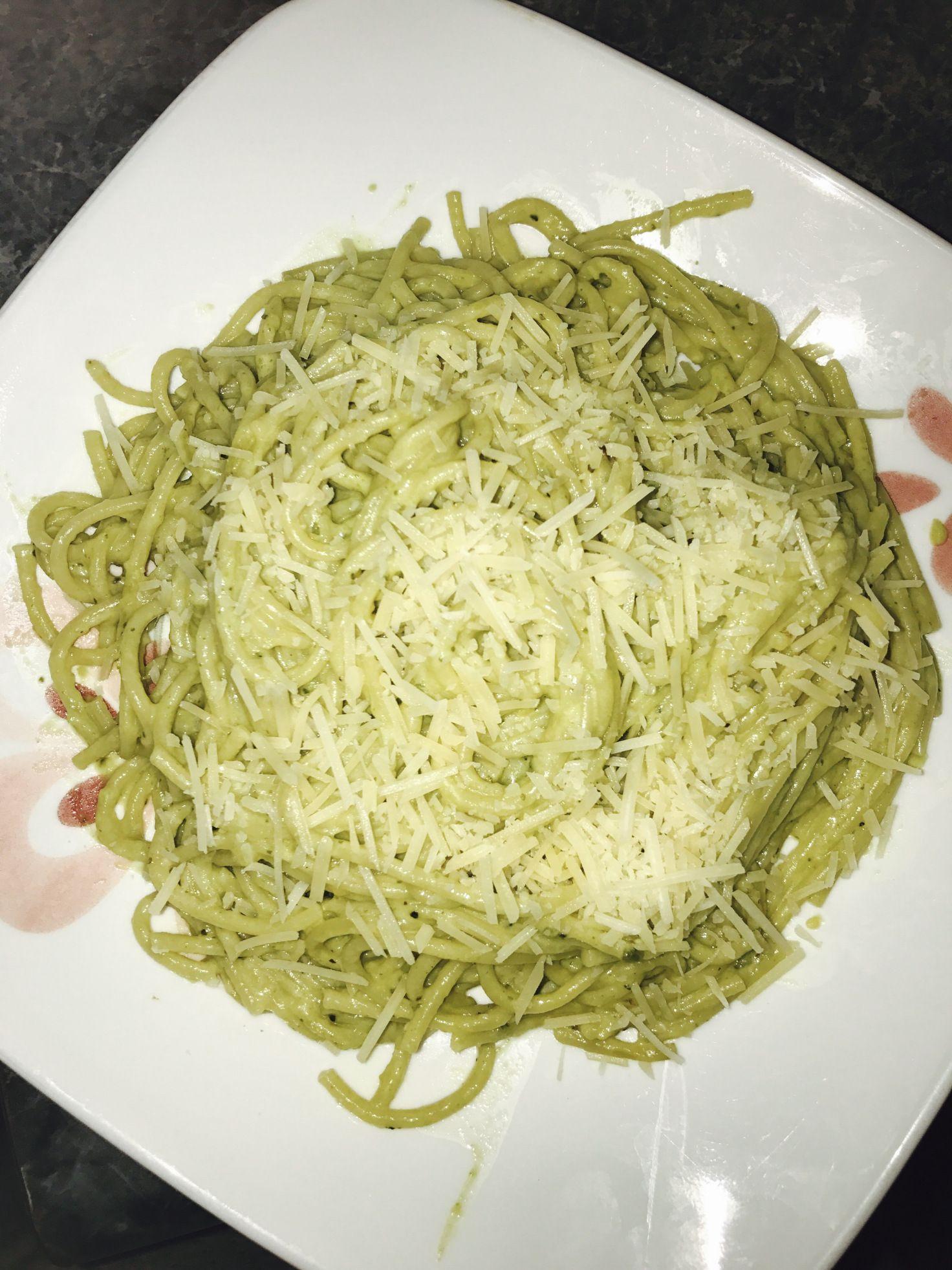 Mexican Green Spaghetti